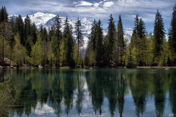 Lac vert (le Servoz)