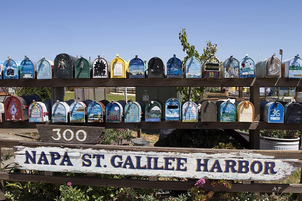 Letter Box (Sausalito-CA)
