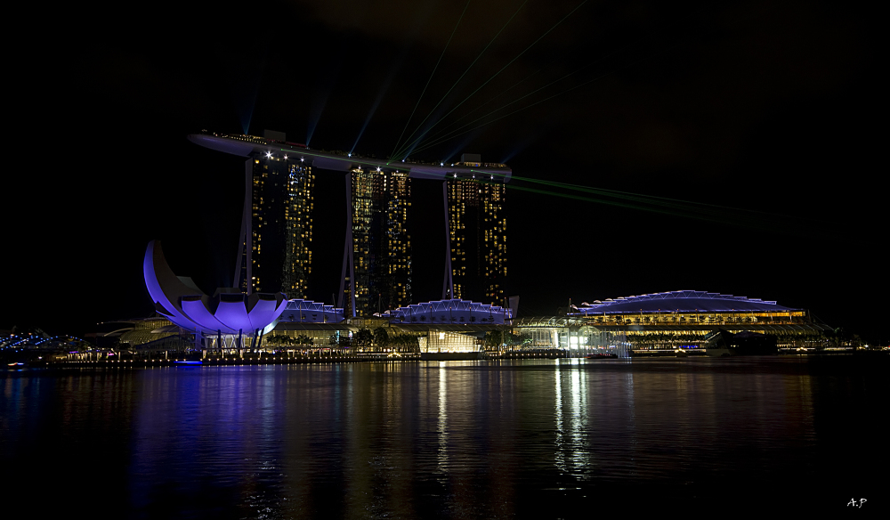 The Marina Bay Sands (Singapore)