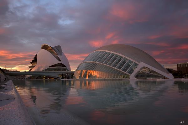Cité des arts et des sciences-Valencia
