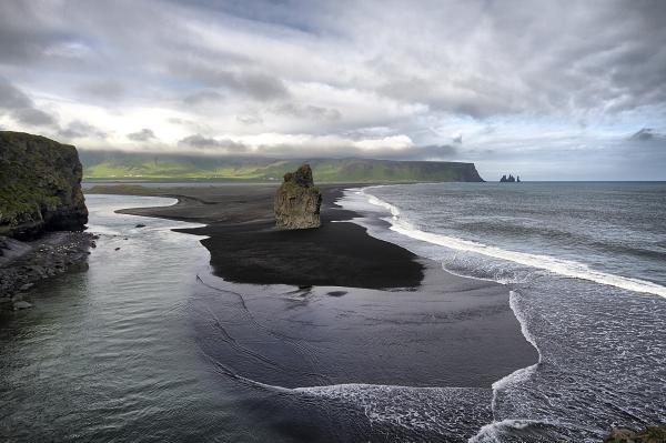 Les falaises de Vik