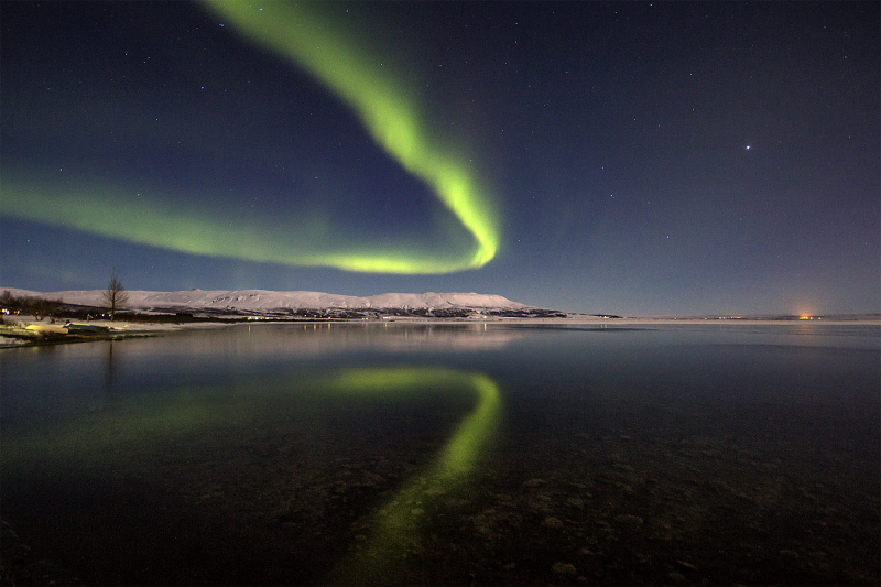 Aurores boreales en Islande