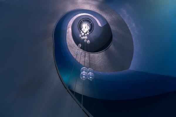 Blue Stair