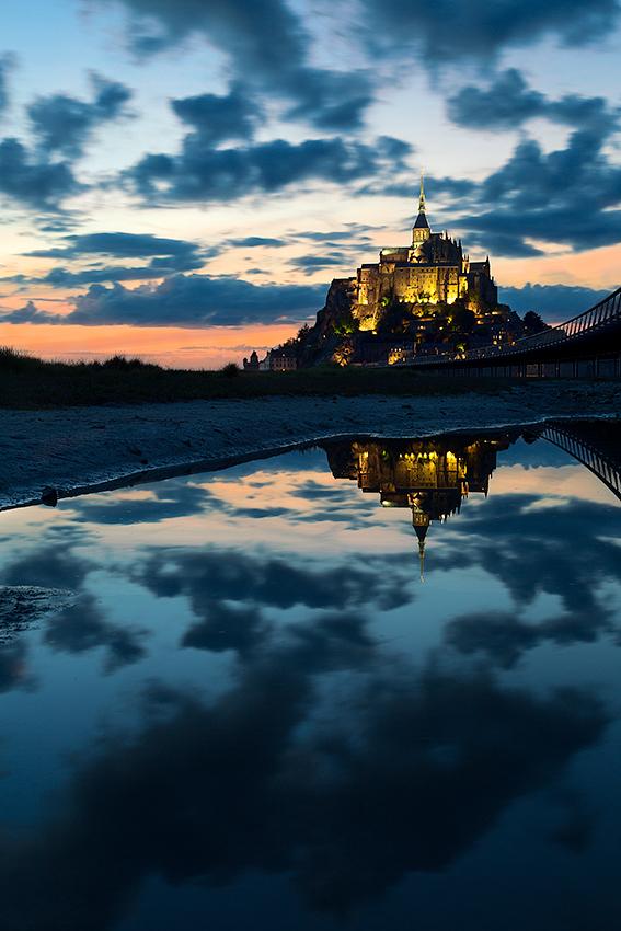 Une nuit au Mont St Michel