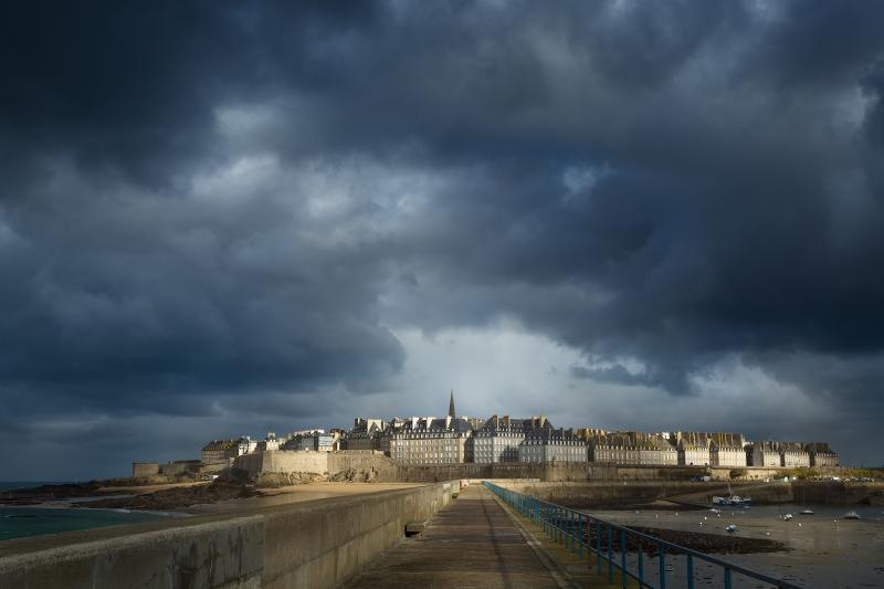 St Malo dans la tourmente