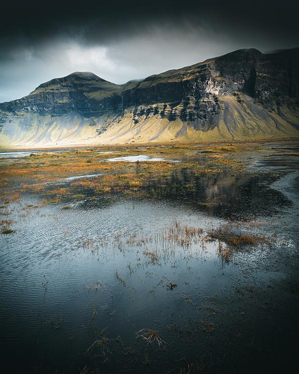 Jour d'orage en Islande