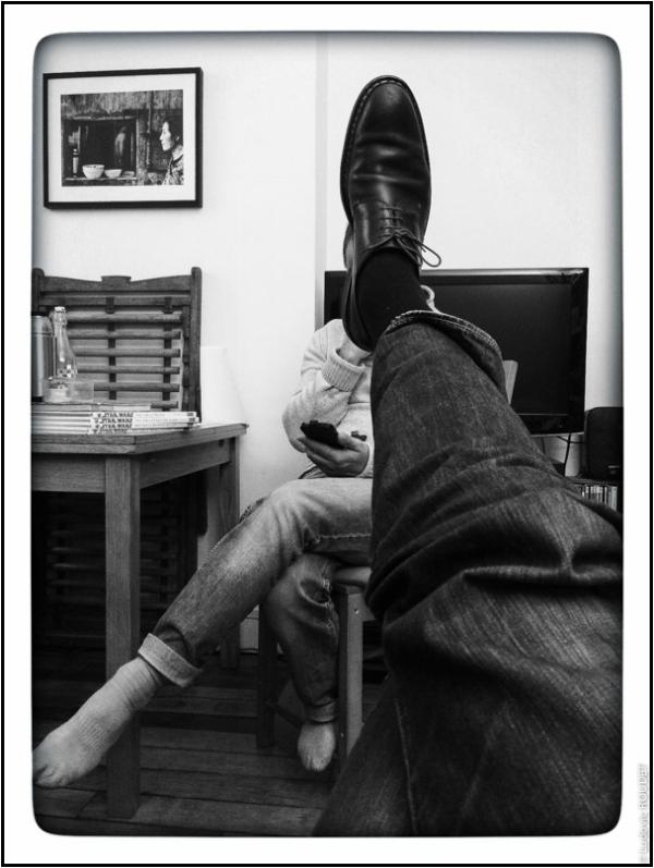 L'Homme à la tête de shoe