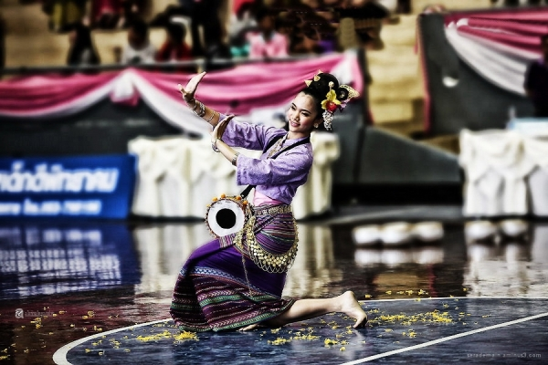 Thai traditional dance