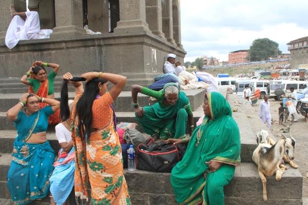 activity at pilgrimage destination