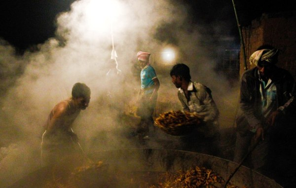 making of turmeric