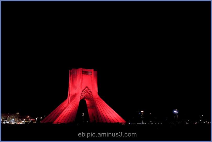 shahyad tower . tehran