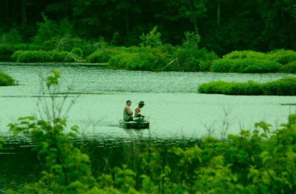 Pêcheurs à Woodstock