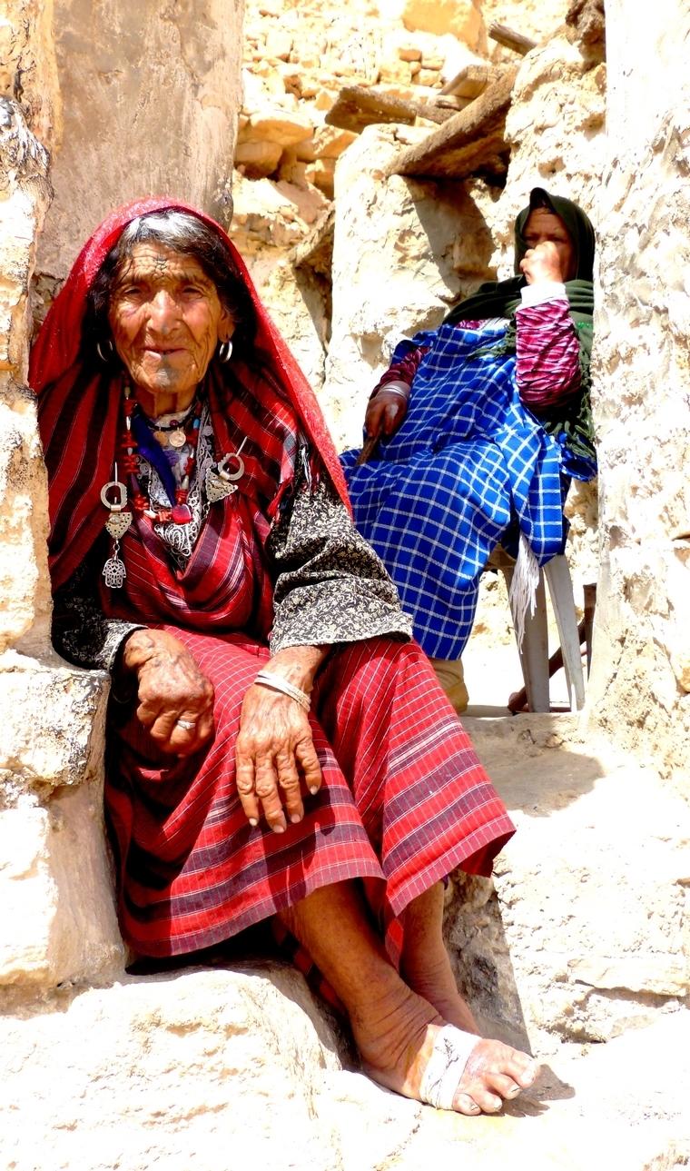 Femme de Chenini, Tunisie