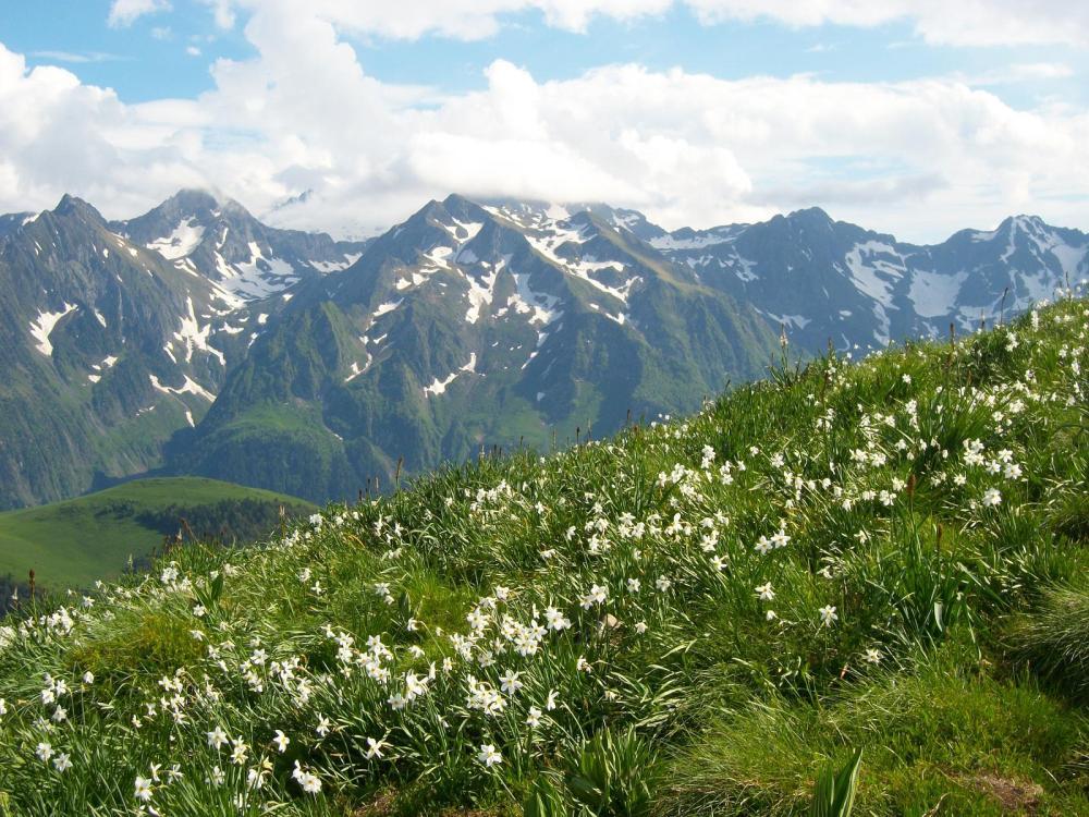 las montañas y yo...