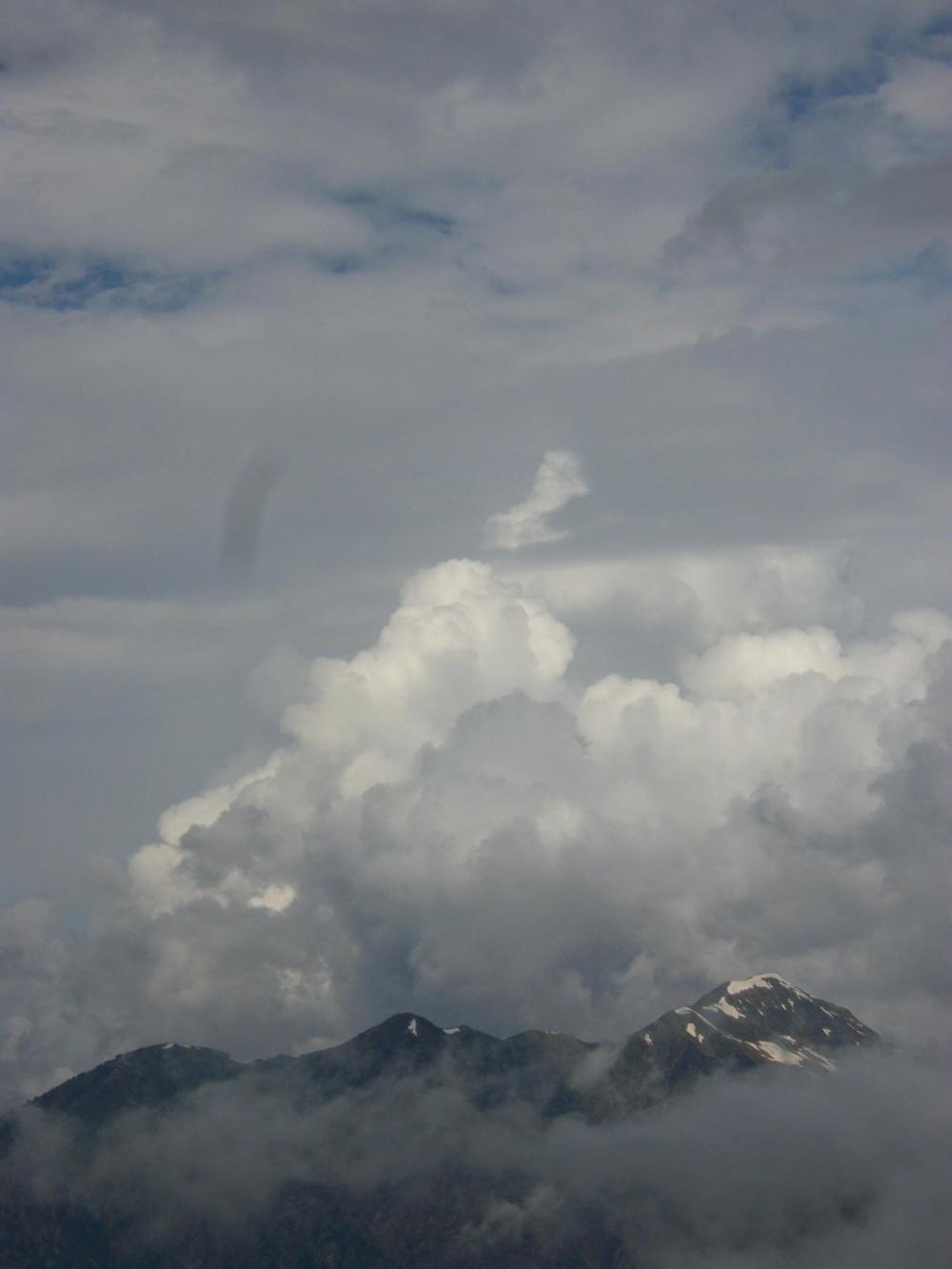 estar en las nubes...