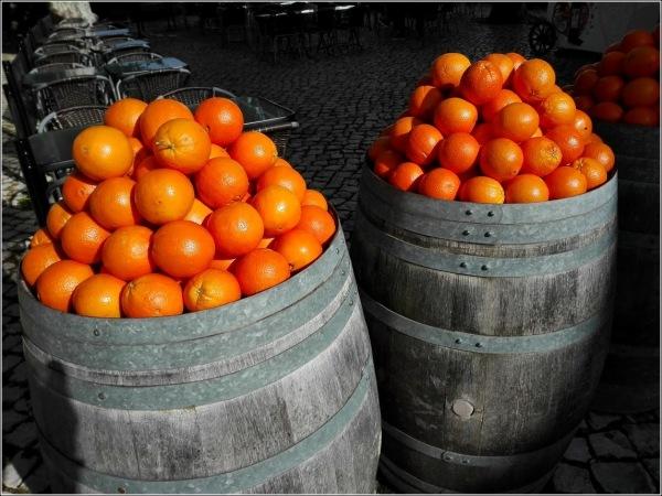 naranjas de Portugal...