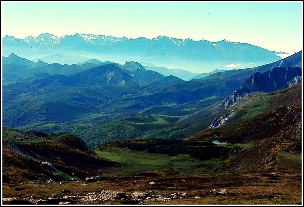 Picos de Europa desde el vértice de Brañosera