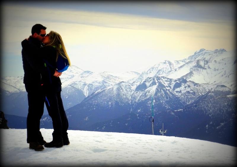 amor en la nieve