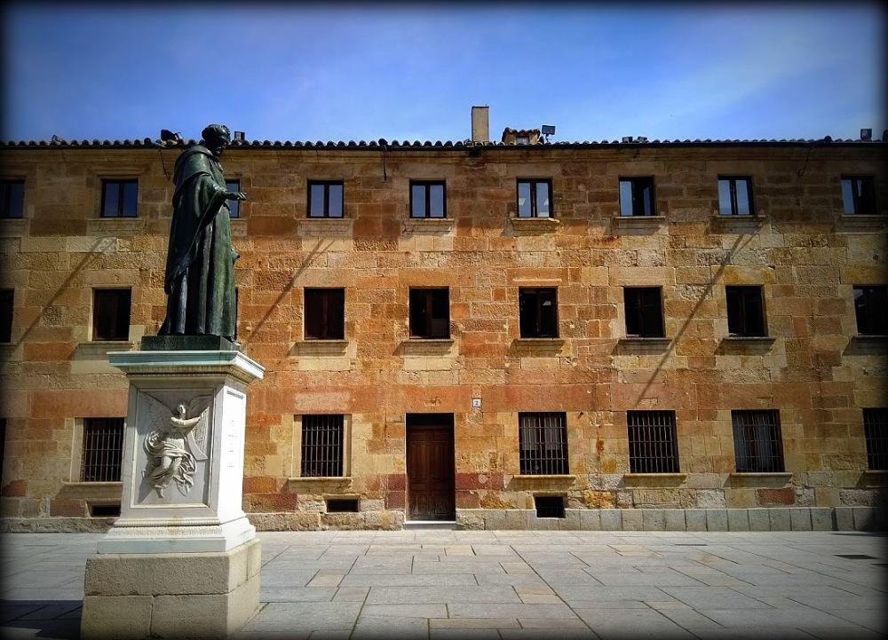 Fray Luis en Salamanca...