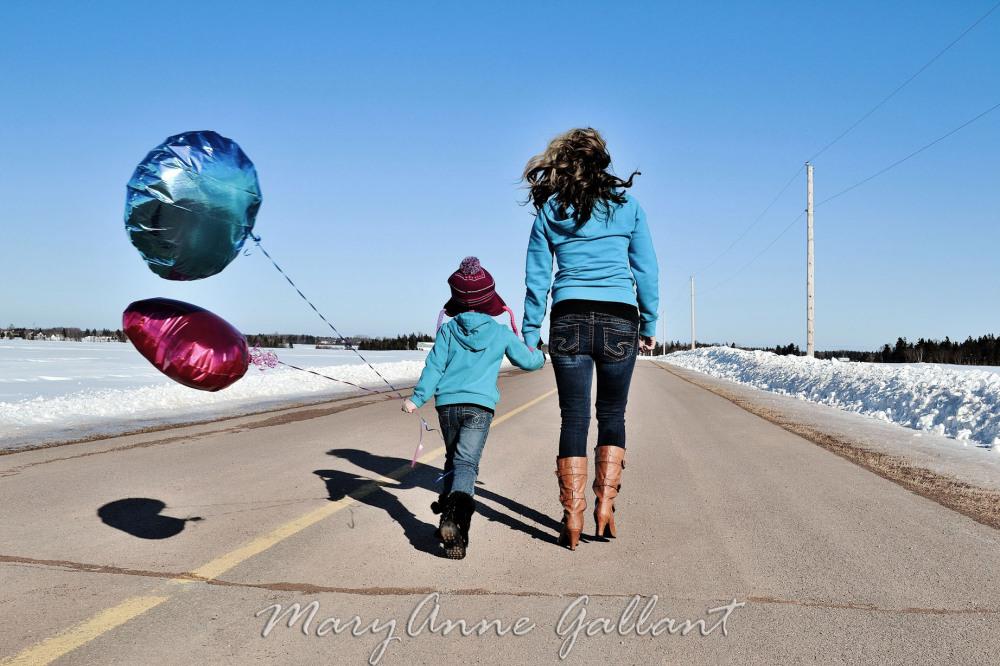 Blue Skies & Balloons