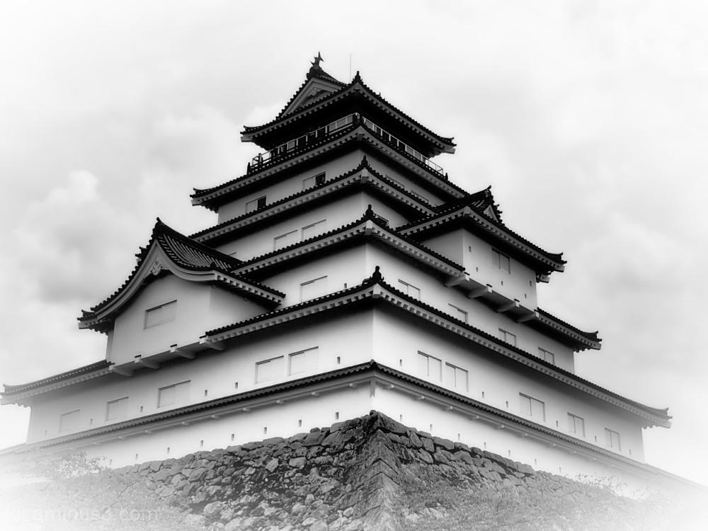 Tsuruga Castle in Aizu