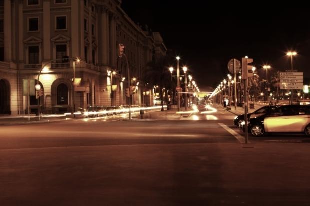 night life in Barcelona...