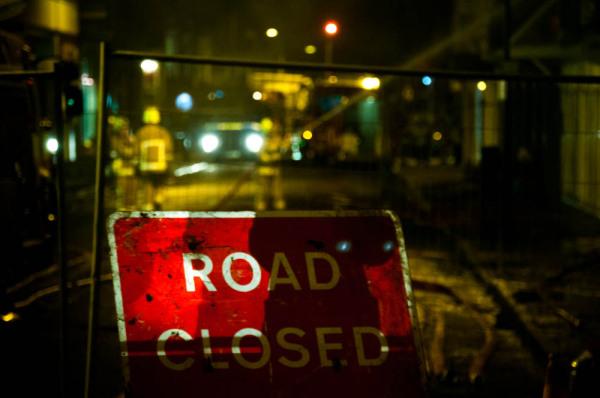 #roadclosed