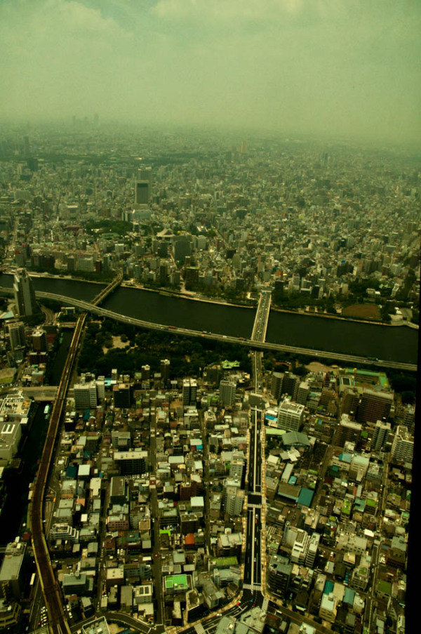 Skytree tokyo view