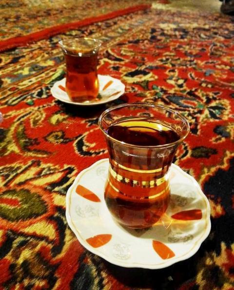 !!چاي با طعم خدا