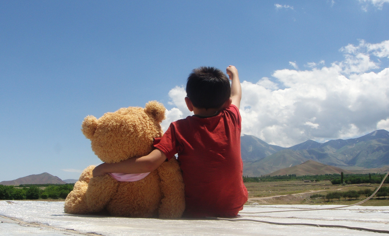 look there Teddy ^_^