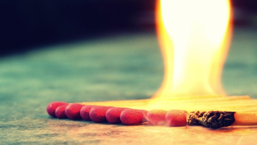 3 - شعله ی مسری