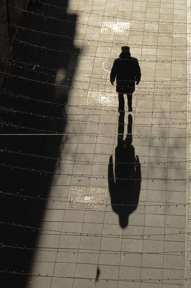 marcher en lignes