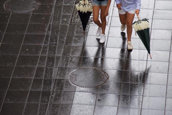 petits coins de parapluies