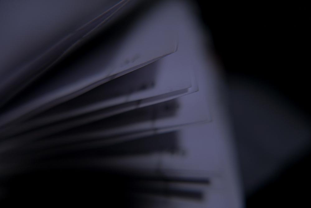 la nuit, je lis