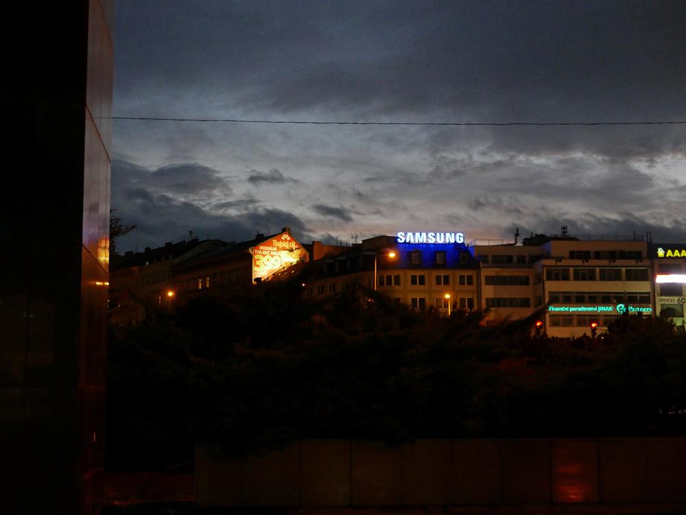 une nuit à Prague