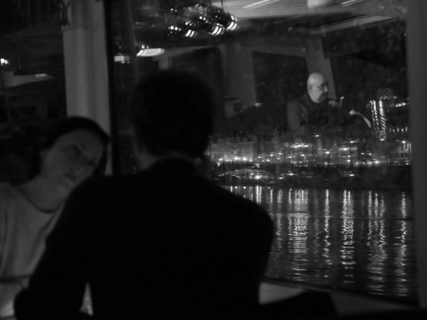 dîner  sur le bateau-jazz