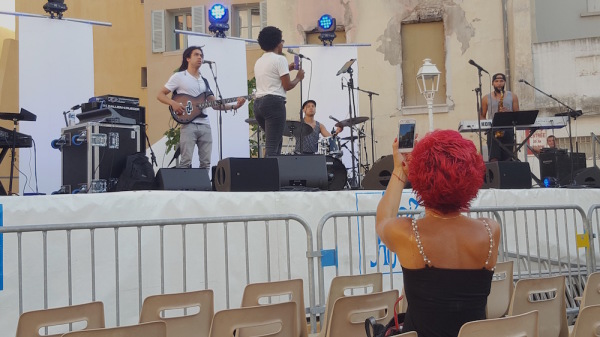 festival de jazz de Toulon, China Moses
