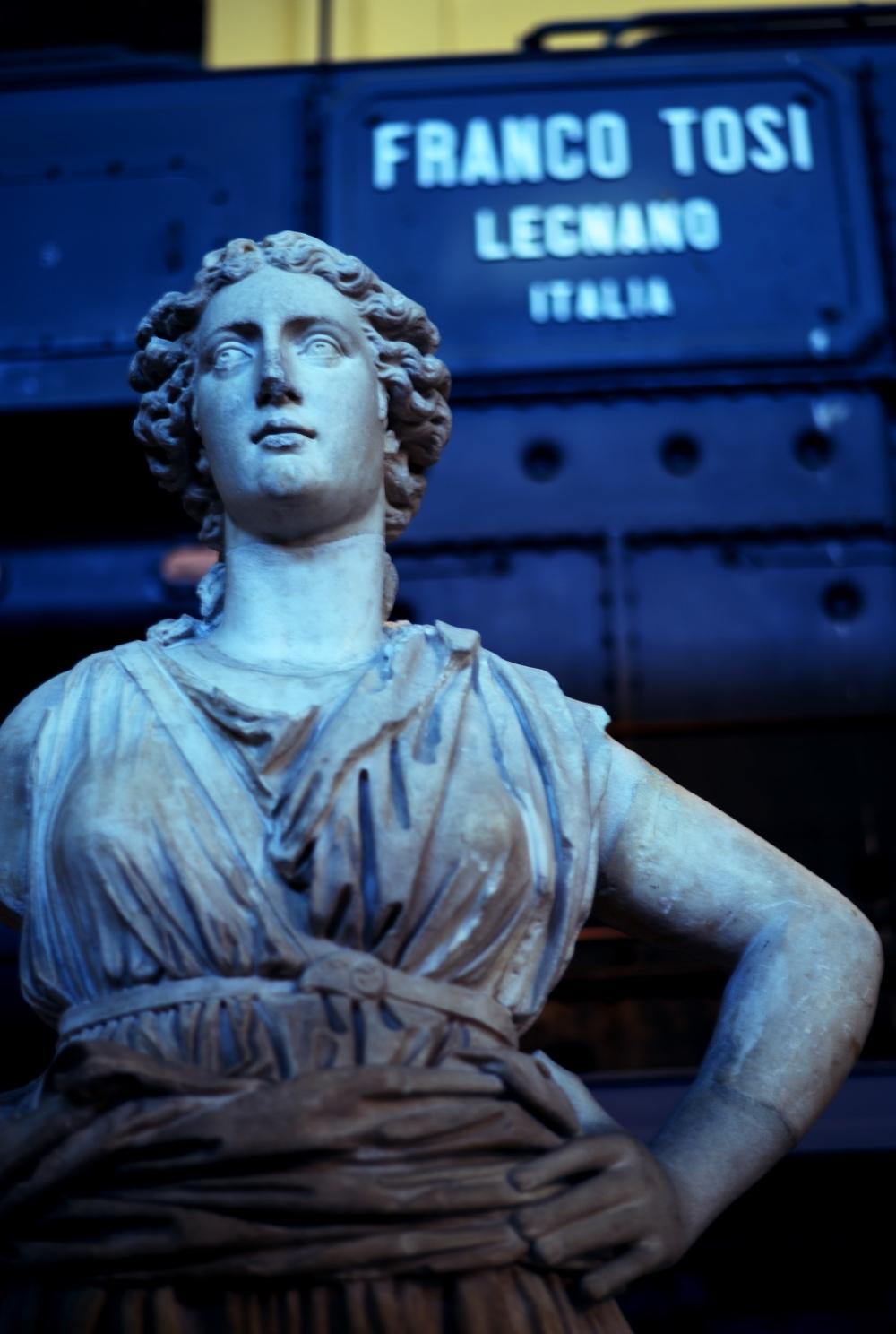 museo centrale Montemartini, Roma