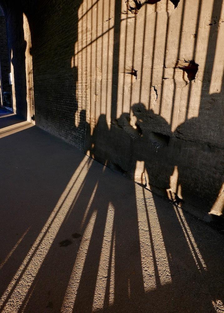 derrière les grilles du Colisée