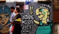 des indiens dans la ville