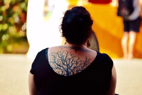 arbre de vie à l'éventail