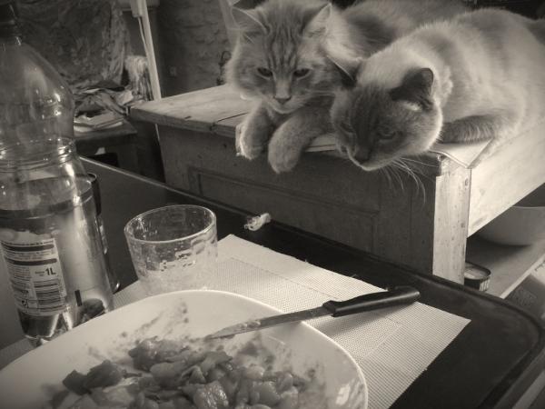 juste déjeûner en paix