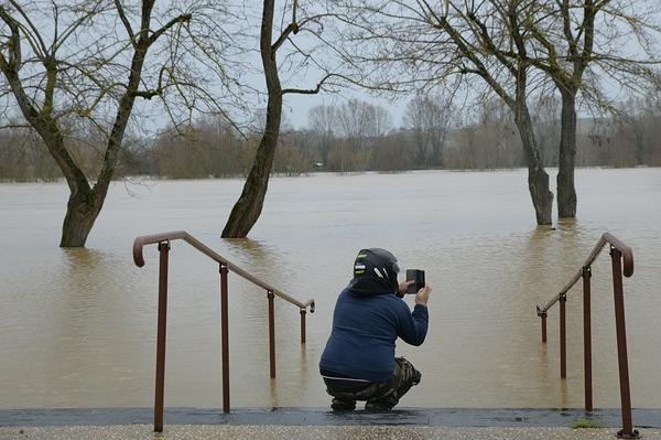 quand la Garonne déborde