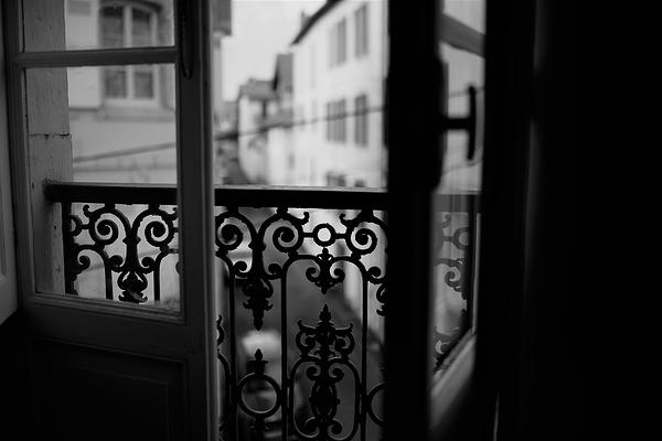 fenêtre à Hendaye