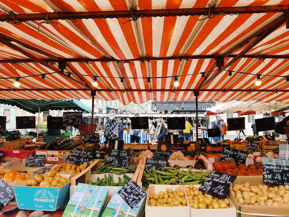 marché et merveilles à La Rochelle
