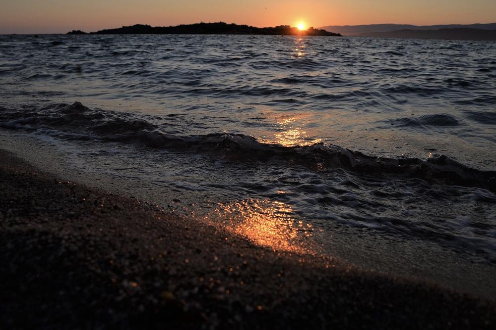 la multiple splendeur du soleil couchant
