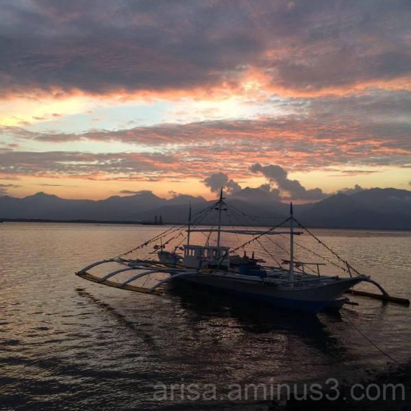 Ernesto's sunset