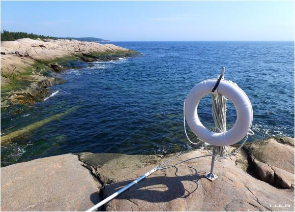 Je me croirais à la mer