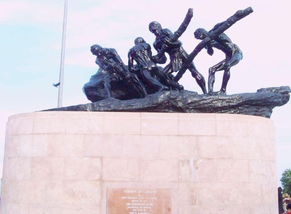 The Triumph of Labour or Labour Statue