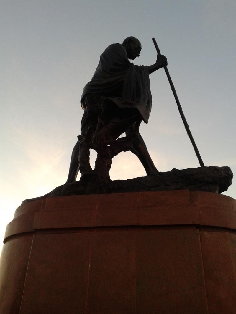 Mahatma Gandhi Statue - Landmark in Chennai Marina